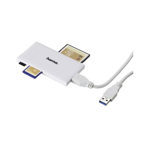 swisspro lector tarjetas memoria hama universal blanco usb 3 0 2