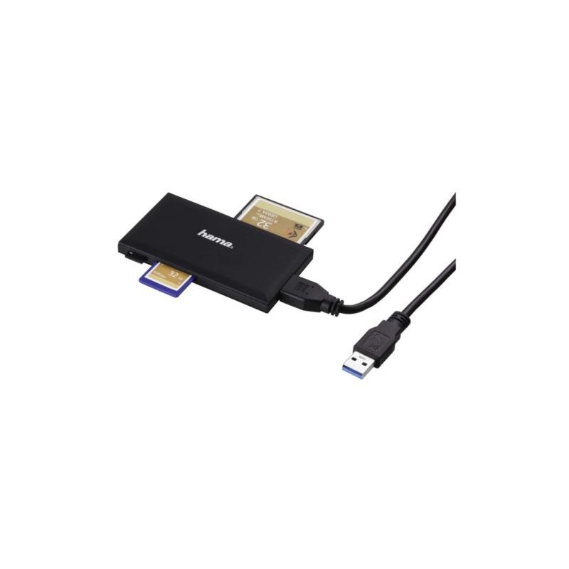 swisspro lector tarjetas memoria hama universal negro usb 3 0 2
