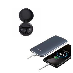 kit earbuds powerbank