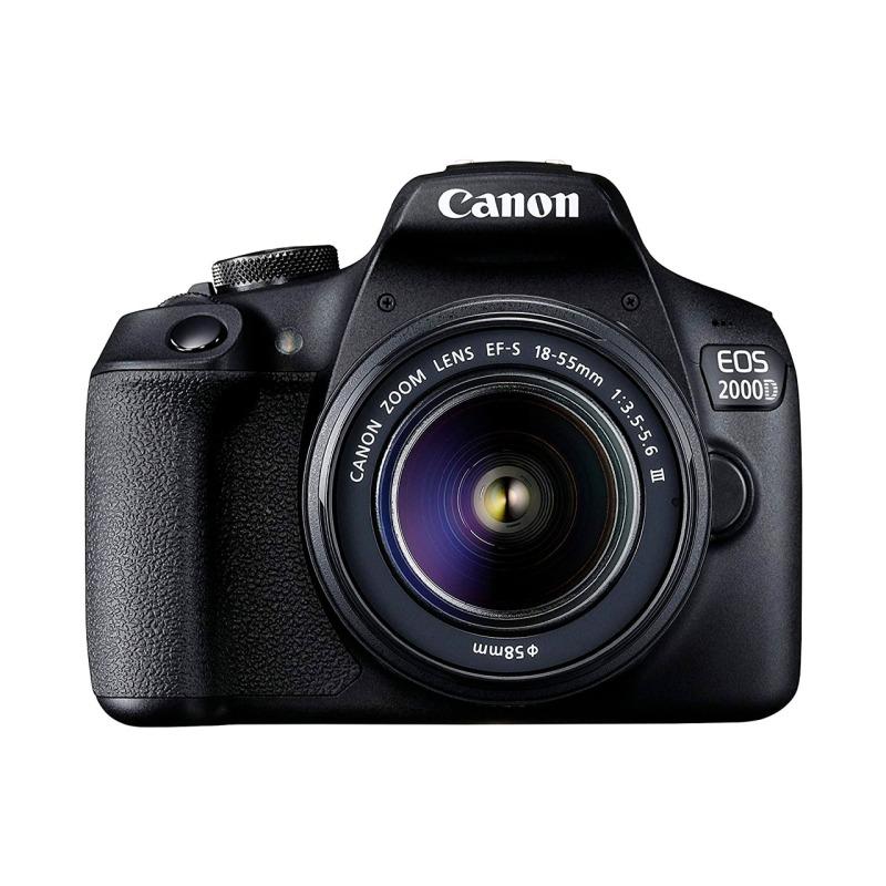swisspro camara reflex canon eos 2000d objetivo 18 55mm is ii kit funda sd 16gb 0001 2728C013