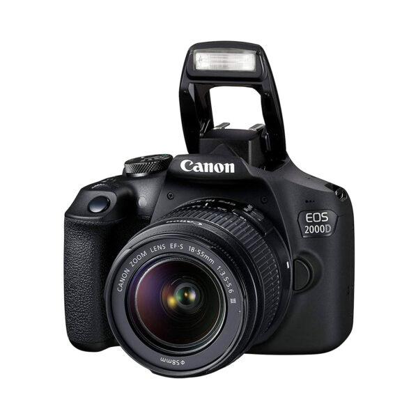 swisspro camara reflex canon eos 2000d objetivo 18 55mm is ii kit funda sd 16gb 0002 2728C013