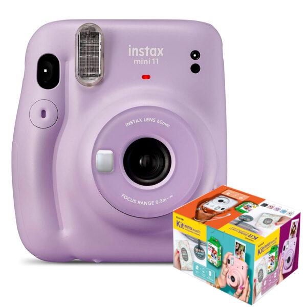 swisspro camara instantanea fuji instax mini 11 lilac purple kit wonderful