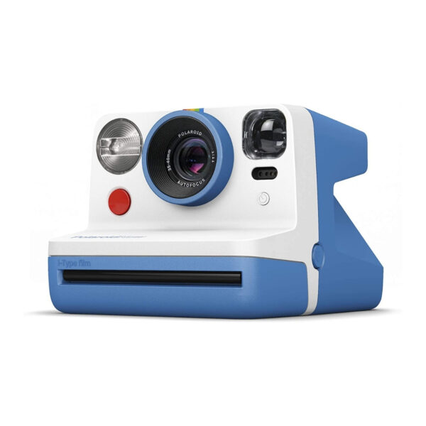 swisspro camara instantanea polaroid now azul 5