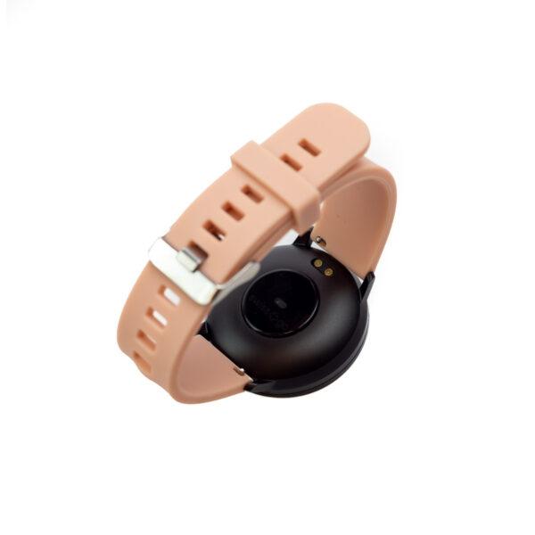 swisspro smart watch swissgo arosa esfera negra correa rosa 3