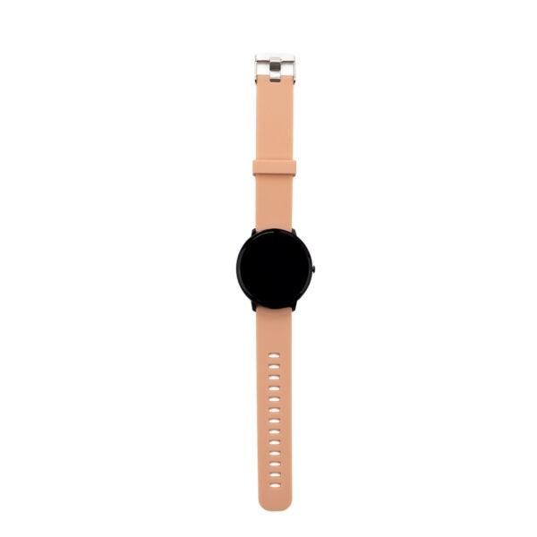 swisspro smart watch swissgo arosa esfera negra correa rosa 4