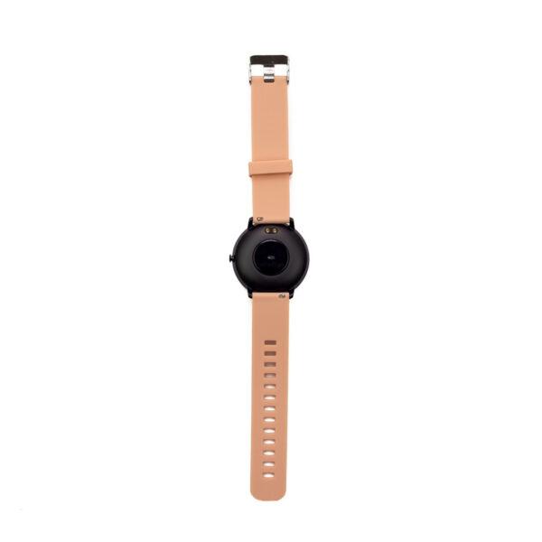 swisspro smart watch swissgo arosa esfera negra correa rosa 5