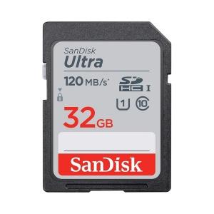 Tarjeta Memoria - SDHC   32Gb Sandisk Ultra 120Mb/s Clase 10 imaging