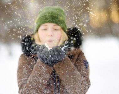 como hacer fotos nieve