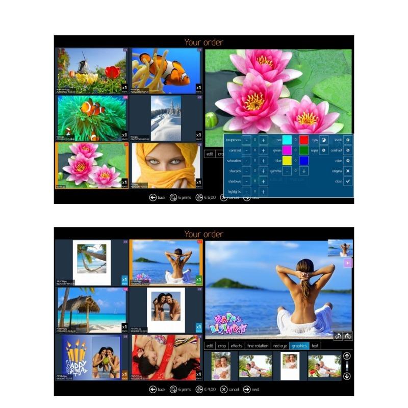 Impresora DNP DS-RX1HS + Software de Kiosco y Foto carnet