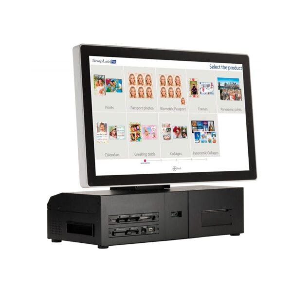 """Kiosco - DNP DS T4 Lite terminal de pedidos 21,5"""" con SnapLab Pro Software"""