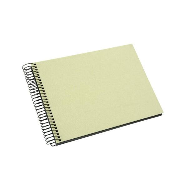 album de pegar goldbuch 24x17 cm bella vista verde lima 40 h negras espiral 1