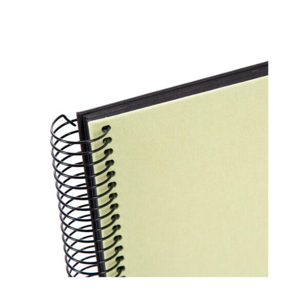 album de pegar goldbuch 24x17 cm bella vista verde lima 40 h negras espiral 2