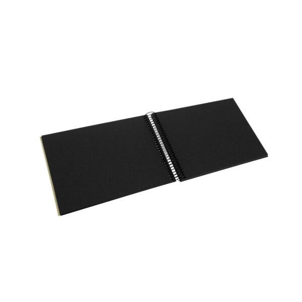 album de pegar goldbuch 24x17 cm bella vista verde lima 40 h negras espiral 3