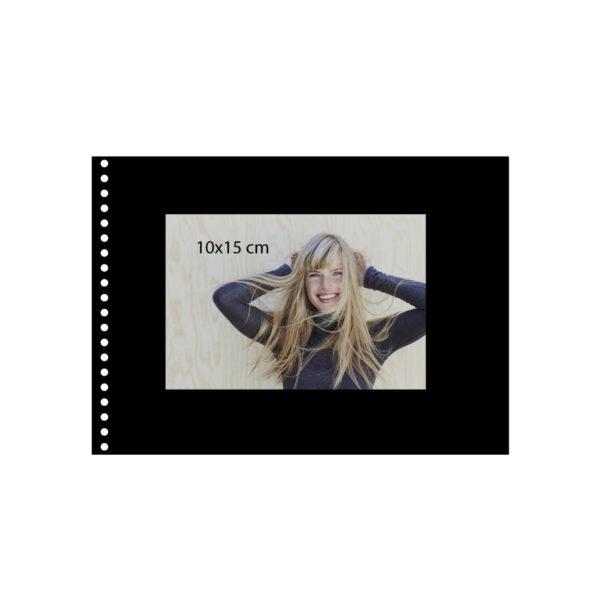 album de pegar goldbuch 24x17 cm bella vista verde lima 40 h negras espiral 4