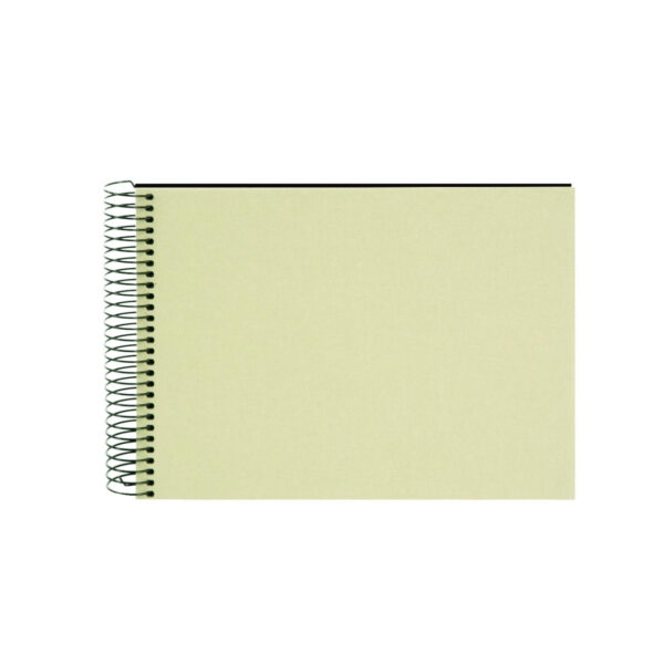 album de pegar goldbuch 24x17 cm bella vista verde lima 40 h negras espiral