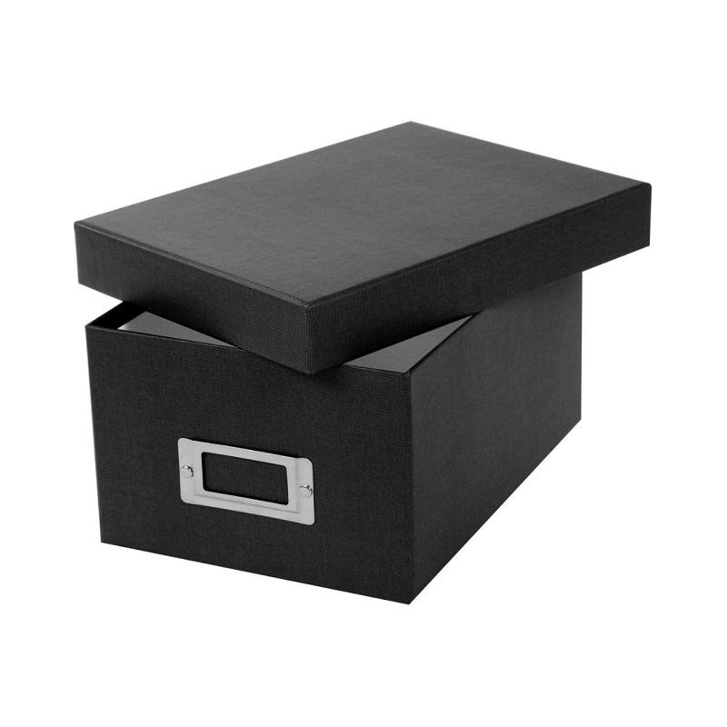 Caja Archivo Goldbuch Bella Vista Negra para 700 fotos 10x15 cm
