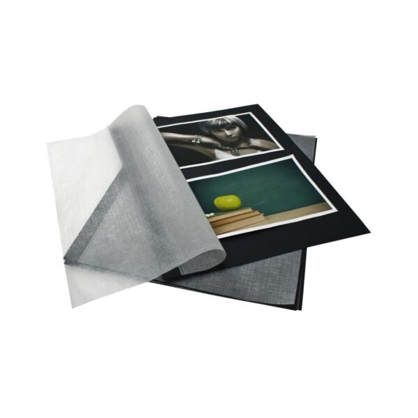 Hojas recambio Album Goldbuch con lámina - Negro