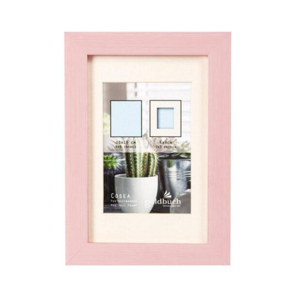 marco fotos plastico goldbuch modelo cosea 10x15 cm rosa 1