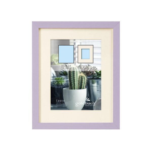 marco fotos plastico goldbuch modelo cosea 18x24 cm purpura 2