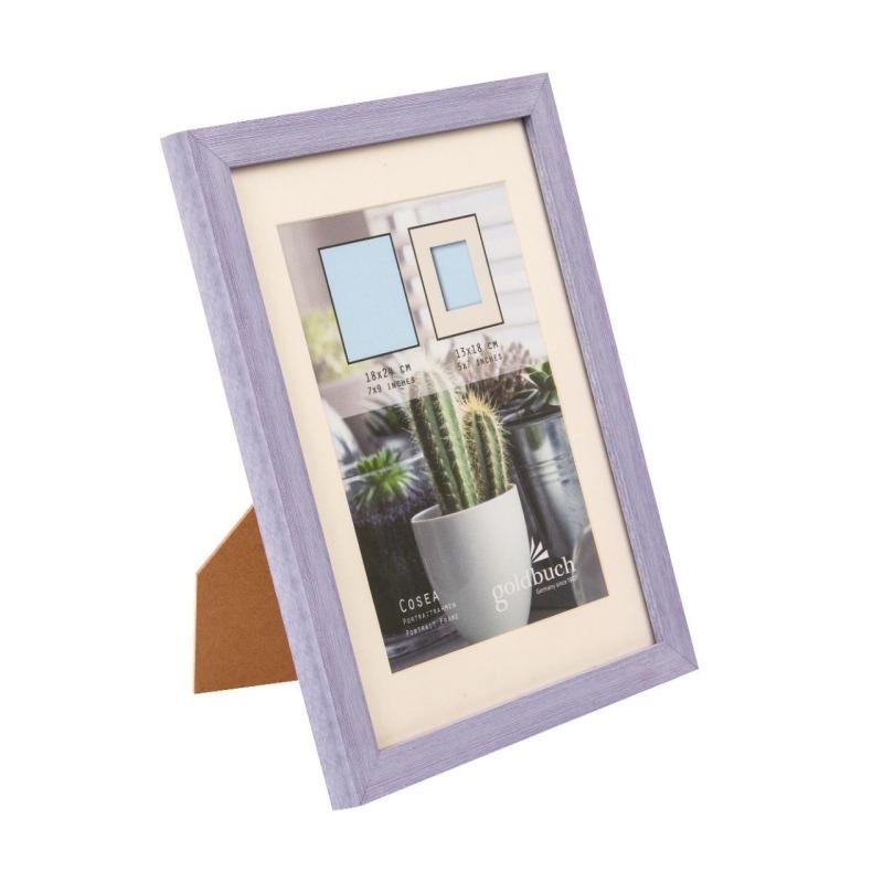 marco fotos plastico goldbuch modelo cosea 18x24 cm purpura