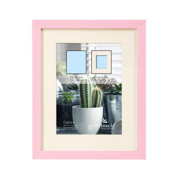 marco fotos plastico goldbuch modelo cosea 18x24 cm rosa 1