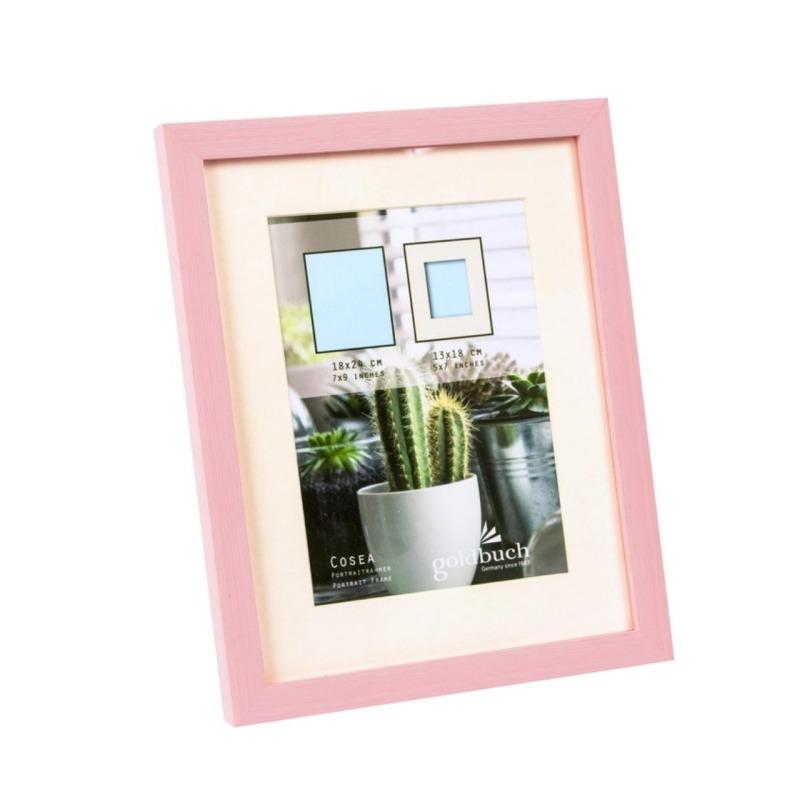 marco fotos plastico goldbuch modelo cosea 18x24 cm rosa