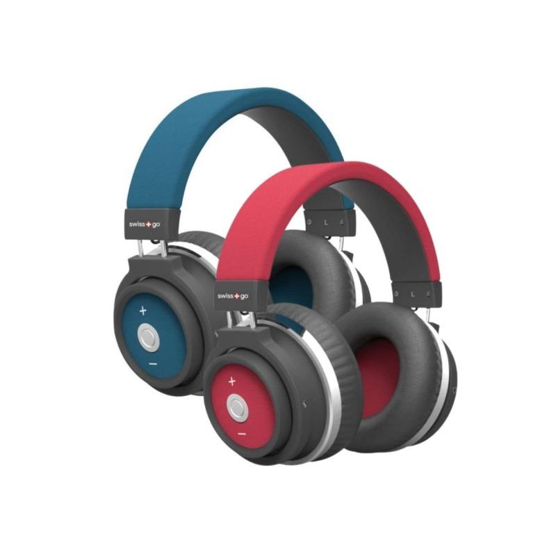 Pack de 2 auriculares bluetooth HP001BT Azul | Rojo