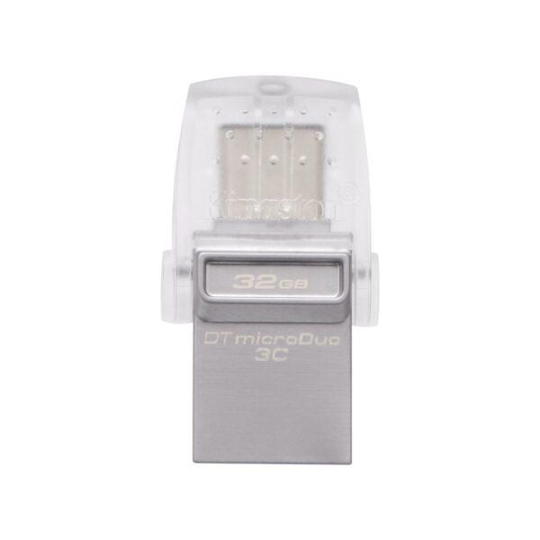 Pendrive Usb 32Gb Kingston MicroDuo OTG 3C USB 3.1 Tipo A y Tipo C