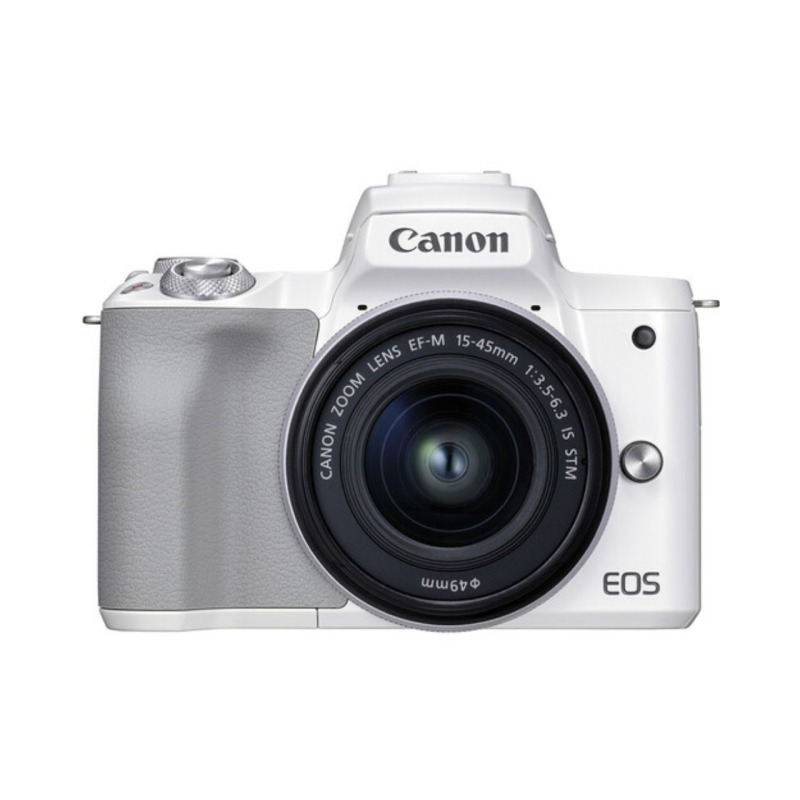 camara evil canon eos m50 mark ii ef m 15 45 mm f 35 56 is stm blanca 1