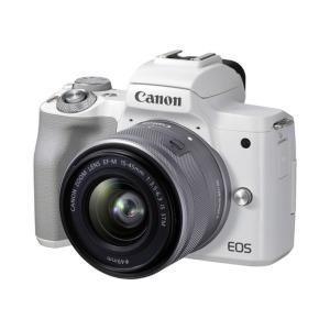camara evil canon eos m50 mark ii ef m 15 45 mm f 35 56 is stm blanca