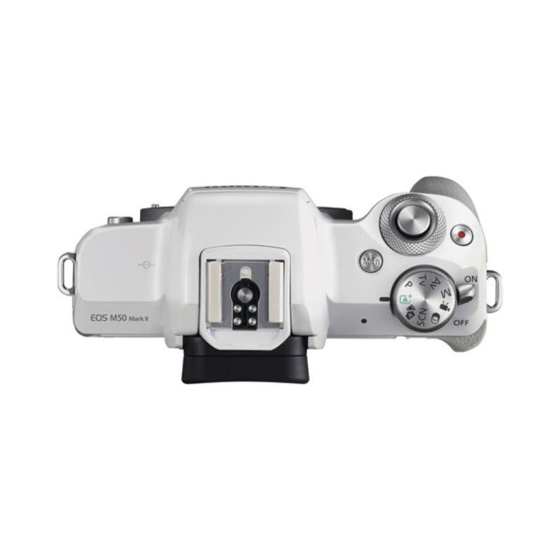 camara evil canon eos m50 mark ii ef m 15 45 mm f 35 56 is stm blanca 4