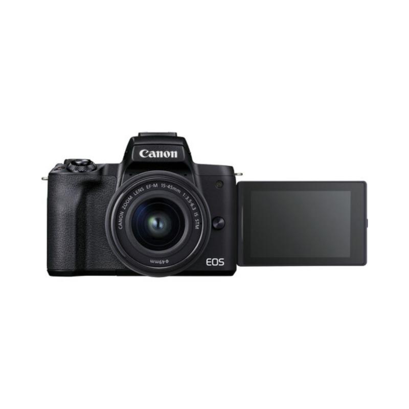 Cámara Evil Canon EOS M50 Mark II + Objetivo EF-M 15-45 mm F3.5-6.3 IS STM Negra
