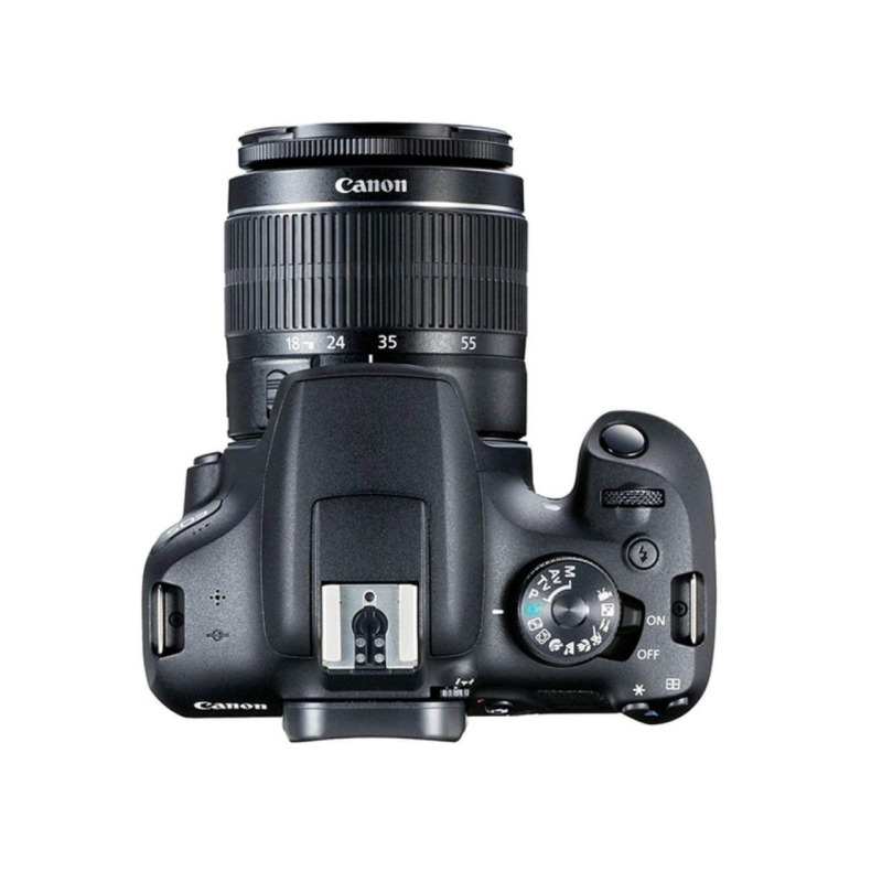 camara reflex canon eos 2000d objetivo 18 55mm dc 3