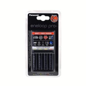 Cargador Panasonic Eneloop Pro + 4 Pilas AA 2500mAh