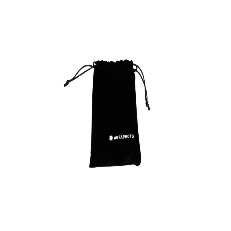 camara compacta analogica agfa 35 mm negra bolsa