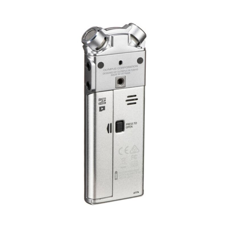 grabadora digital de voz olympus ls p1 plata bateria recargable adaptador tripode 2