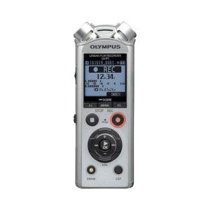 grabadora digital de voz olympus ls p1 plata bateria recargable adaptador tripode 6