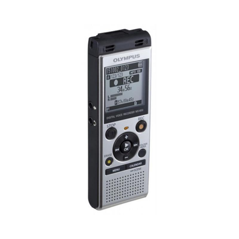 grabadora digital de voz olympus ws 852 plata 4gb bateria recargable 1
