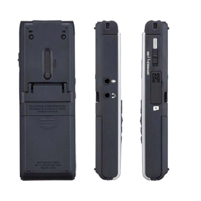 grabadora digital de voz olympus ws 852 plata 4gb bateria recargable 3