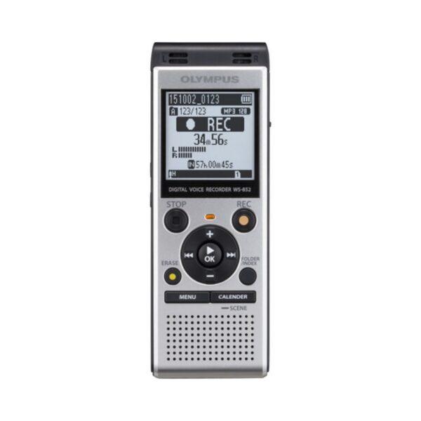 grabadora digital de voz olympus ws 852 plata 4gb bateria recargable