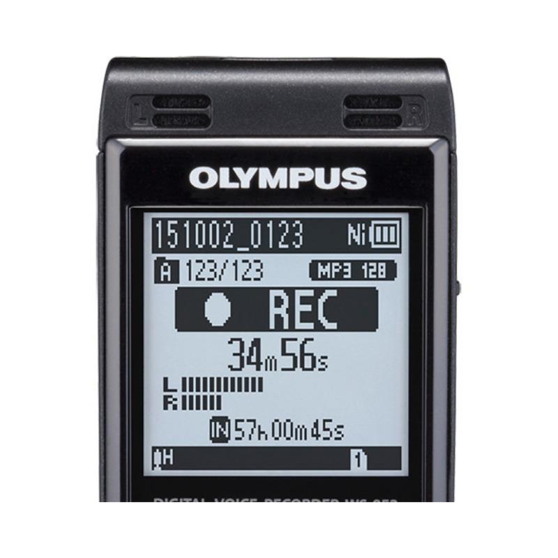 grabadora digital de voz olympus ws 853 negro 8gb bateria recargable y funda 1