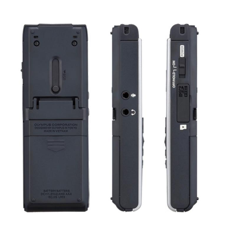 grabadora digital de voz olympus ws 853 negro 8gb bateria recargable y funda 2