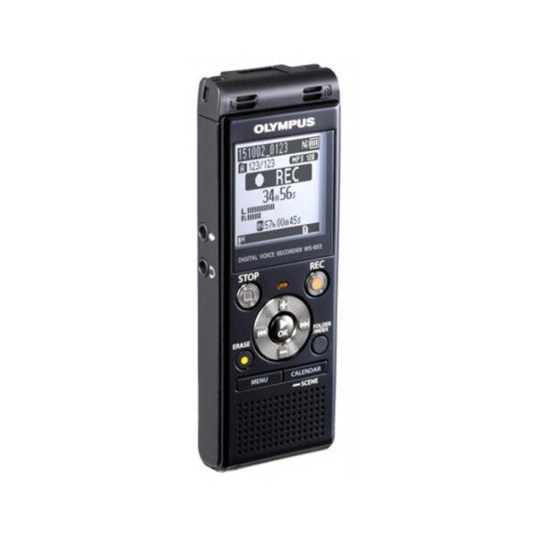 grabadora digital de voz olympus ws 853 negro 8gb bateria recargable y funda