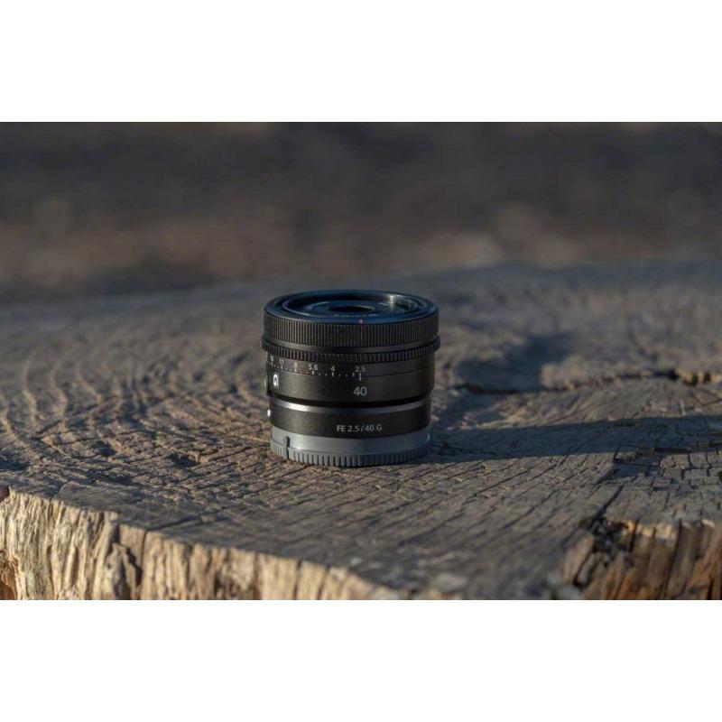 objetivo sony fe 40mm f 25 g prime lens 1