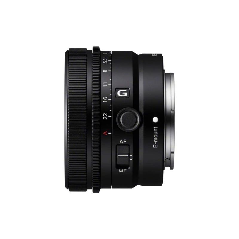 objetivo sony fe 40mm f 25 g prime lens