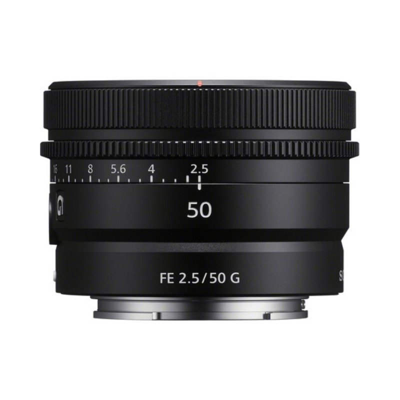 objetivo sony fe 50mm f 25 g prime lens 1