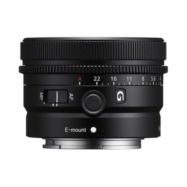 objetivo sony fe 50mm f 25 g prime lens