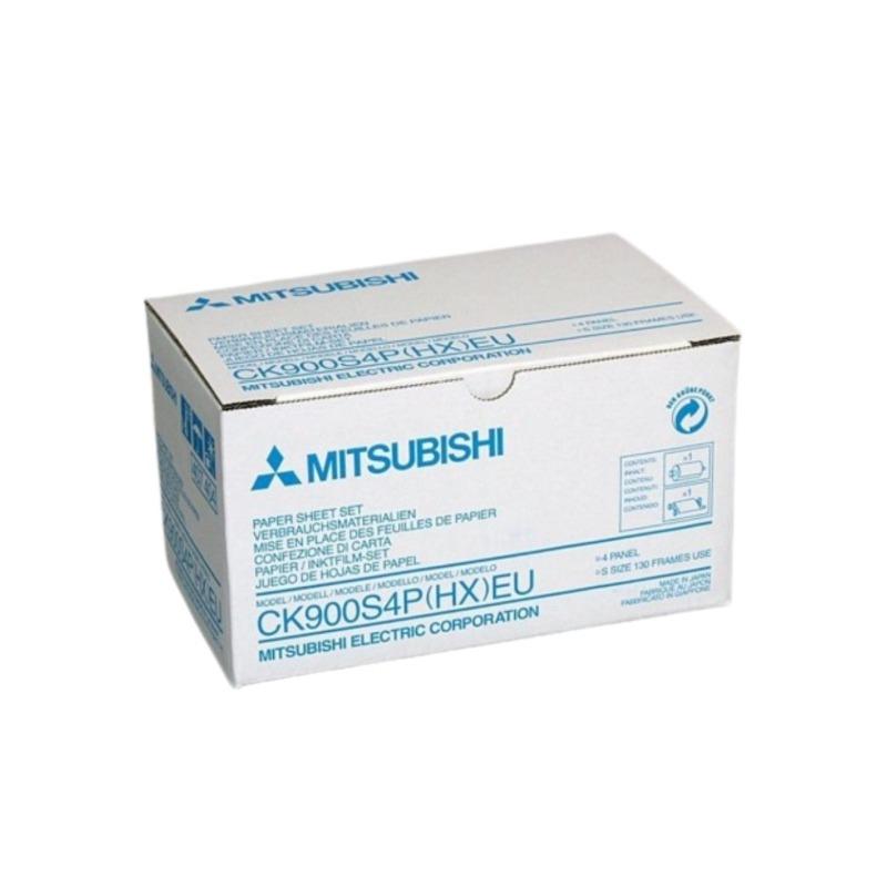 papel termico mitsubishi vp ck900s4p azul hxeu 130f 1
