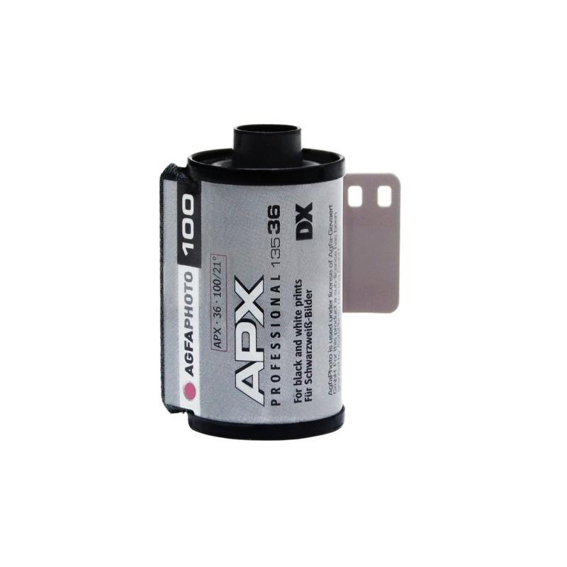 pelicula blanco y negro 35mm agfa apx 100 36 1