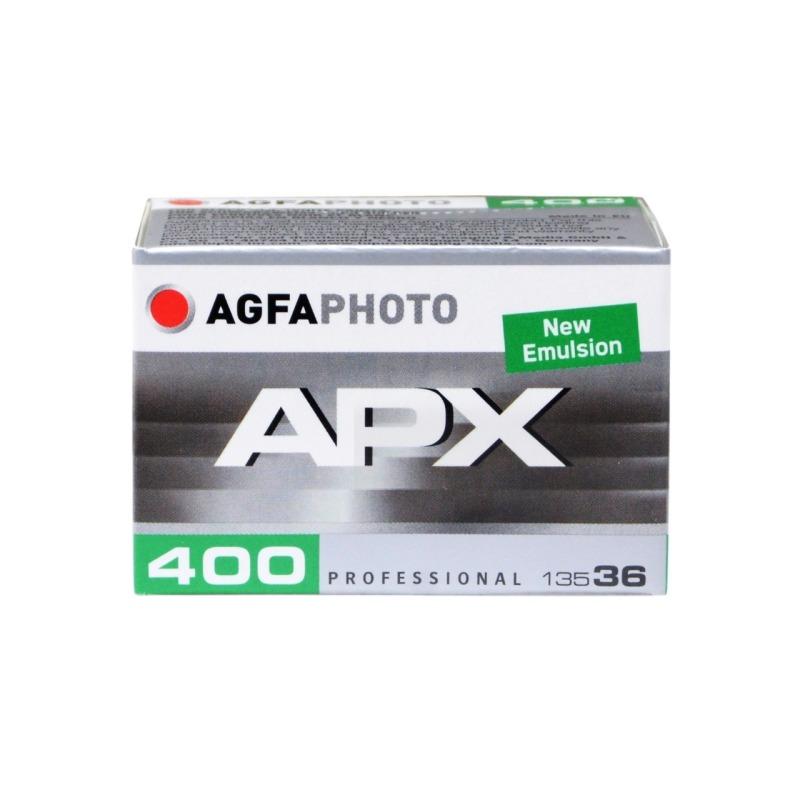 pelicula blanco y negro 35mm agfa apx 400 36 1